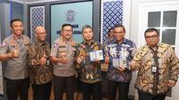 PT Bank Rakyat Indonesia (Persero) Tbk. menjalin kerja sama dengan Kepolisian Republik Indonesia (POLRI).