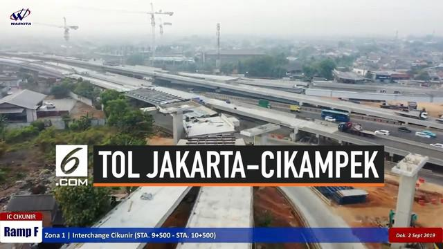 PT Jasa Marga (Persero) Tbk melalui anak usaha PT Jasamarga Jalanlayang Cikampek (JJC) selaku pengelola Jalan Tol Jakarta-Cikampek II (Elevated) pada Selasa (10/9/2019) dini hari menyelesaikan pengangkatan Steel Box Girder (SBG) untuk proyek Jalan To...