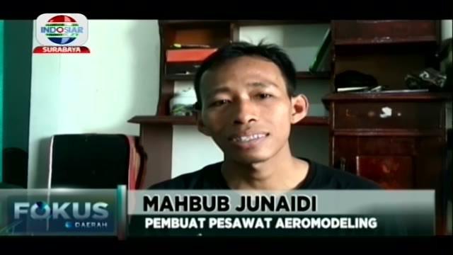 Di tangan Mahbub Junaidi (32) warga Desa Tanggulrejo, Kecamatan Manyar, Kabupaten Gresik Jawa Timur, barang bekas atau limbah yang biasa dibuang disampah begitu saja.