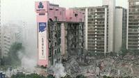 Sampoong Department Store yang ambruk pada tahun 1995 (AFP)