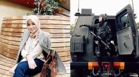 6 Potret Olla Ramlan Pakai Seragam Paskhas TNI AU, Curi Perhatian (sumber: Instagram.com/ollaramlanaufar)