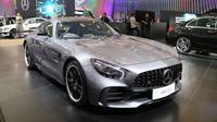 Mercedes AMG GT-R hadir di GIIAS 2017, ICE, BSD, Tangerang Selatan. (Herdi Muhardi)