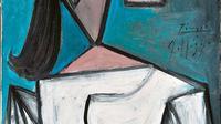 Lukisan Kepala Wanita Picasso (Sumber Foto: National Gallery Athens)