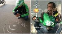 Gaya Kocak Driver Ojek Online Saat Usaha Cari Penumpang Ini Bikin Tepuk Jidat (sumber:Instagram/online.bdg)