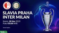 Liga Champions - Slavia Praha Vs Inter Milan (Bola.com/Adreanus Titus)