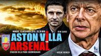 Aston villa vs Arsenal (Liputan6.com/Abdillah)