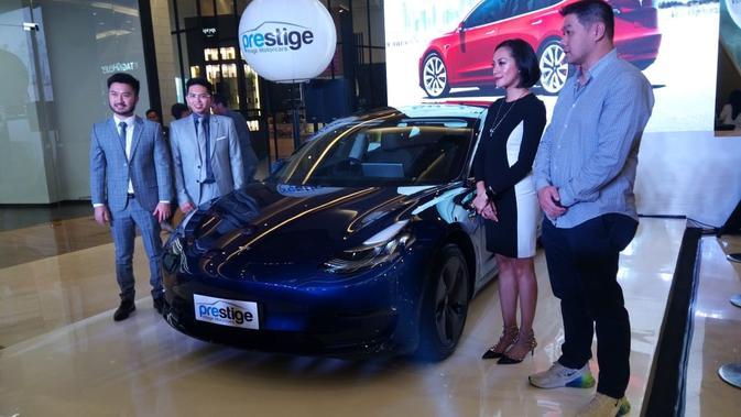 Tesla Model 3 Resmi Mengaspal Di Indonesia Harganya Otomotif Liputan6 Com