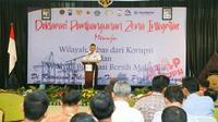 Deklarasi pembangunan zona integritas (Foto:Liputan6.com/Dian Kurniawan)