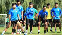 Pelatih Shin Tae-yong menjadikan laga uji coba melawan Qatar sebagai ajang untuk melihat perkembangan pemain Timnas Indonesia U-19. (dok. PSSI)