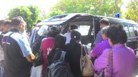 Tiga orang Tenaga Kerja Indonesia (TKI) asal Nusa  Tenggara Timur (NTT) yang meninggal di Malaysia akhirnya dikirim pulang ke  NTT, jumat (22/6/2018).