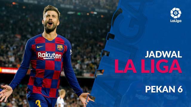 Berita video jadwal La Liga 2019-2020 pekan ke-6. Barcelona hadapi Villareeal di Camp Nou, Rabu (25/9/2019).