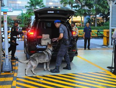 Polisi dan Tentara Jaga Ketat Lokasi Debat Keempat Pilpres 2019