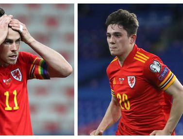 Foto Piala Eropa: 5 Pemain Kunci Timnas Wales Jelang Laga Kontra Swiss di Grup A Euro 2020, Termasuk Sayap Manchester United