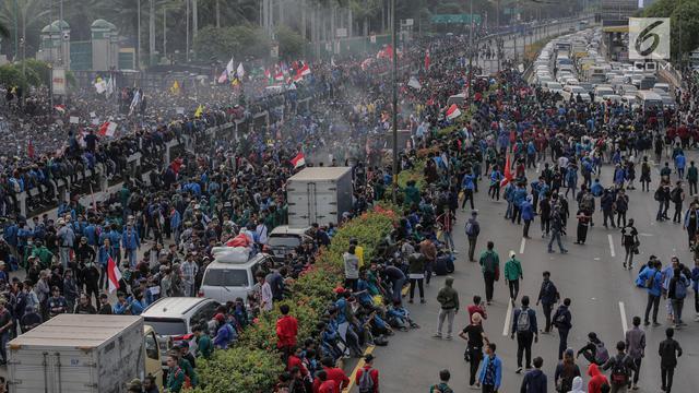Polda Demo Berlangsung Kondusif Di Jawa Timur Surabaya