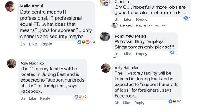 Warganet nyinyiri data center pertama Facebook yang akan dibangun di Singapura (Foto: The Independent Singapura)