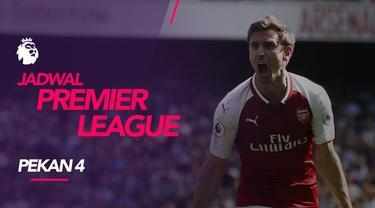 Berita video jadwal Premier League 2019-2020 pekan ke-4. Derbi London Utara antara Arsenal vs Tottenham Hotspur, Minggu (1/9/2019) di Emirates Stadium.