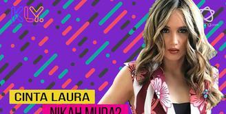 Masih fokus karir, Cinta Laura tak mau menikah cepat