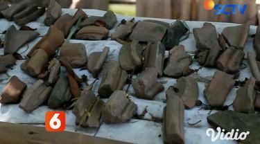 Di Sidoarjo, Jawa Timur ada sebuah museum yang dikenal sebagai tempat edukasi peninggalan situs bersejarah zaman Majapahit, yakni Museum Kreweng. Pemakaian kata kreweng berasal dari Bahasa Jawa berarti pecahan-pecahan gerabah atau tembikar.