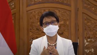 Tiba di AS, Menlu Retno Pastikan Indonesia Terlibat dalam Penyediaan Pasokan Vaksin COVID-19 Global
