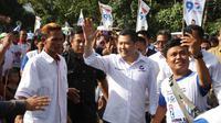 Ketua Umum Partai Perindo Hary Tanoesoedibjo mengunjungi Lombok Barat, NTB. (Istimewa)