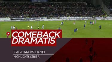 Berita Video Highlights Serie A, Cagliari Vs Lazio 1-2