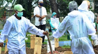 Intensitas Pemakaman dengan Protokol COVID-19