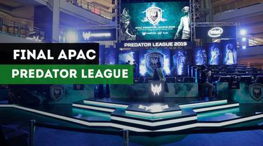 Berita Video Final Asia Pacific Predator League 2019 Dimulai