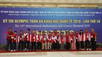 Tim Pelajar Indonesia Peraih Olimpiade MIPA di Vietnam 2019
