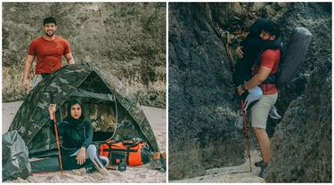 Tetap Mesra, Ini 6 Momen Ammar Zoni dan Irish Bella Camping Bareng