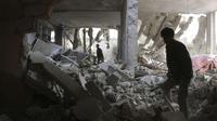 Jumlah korban di Suriah terus bertambah. Hingga kini, tercatat setidaknya ada 210 ribu orang yang tewas.