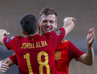 FOTO: Spanyol Lumat Kosovo di Kualifikasi Piala Dunia 2022
