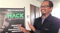 Ketua Indonesia Security Incident Response Team On Internet Infrastructure (ID-SIRTII) Rudi Lumanto. Liputan6.com/ Ady Anugrahadi