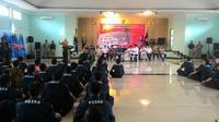 Mensos beri pengarahan kepada Tagana (Liputan6.com/ Achmad Sudarno)