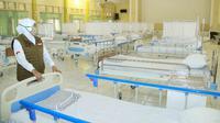 Rumah sakit darurat COVID-19 di Jawa Timur (Foto: Liputan6.com/Dian Kurniawan)