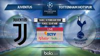 Liga Champions_Juventus Vs Tottenham Hotspur (Bola.com/Adreanus Titus)