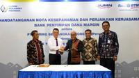 MoU dan Perjanjian Kerjasama Bank Penyimpan Dana Margin BTN dan Kliring Berjangka Indonesia (Foto: Dok BTN)