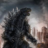 Godzilla. Foto: via backdropwallpaper.com