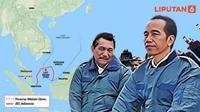 Banner Infografis Klaim Sepihak China di Laut Natuna. (Liputan6.com/Abdillah)