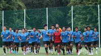 Timnas Indonesia U-19 sedang menggelar pemusatan latihan. (PSSI).