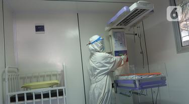 Ruang Bersalin Isolasi Pasien Covid-19 di Puskesmas Duren Sawit