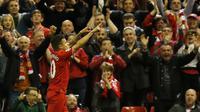 Philippe Coutinho di laga Liverpool Vs Everton (Reuters)
