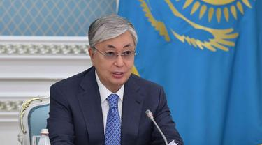 Presiden Kazakhstan Kassym-Jomart Tokayev.
