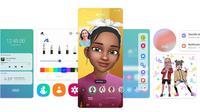 Tampilan Samsung One UI 3.0. (Foto. Samsung)
