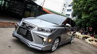 Tampang Toyota Innova Ini Jadi Seperti Lexus (Foto: Zing)