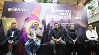 Presconfrence Eventori di M Bloc, Jakarta.