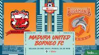 Shopee Liga 1 - Madura United Vs Pusamania Borneo FC (Adreanus Titus)