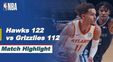 Berita video, Atlanta Hawks berhasil raih kemenangan atas Memphis Grizzlies