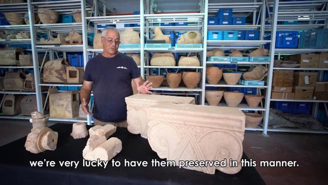 Israel menemukan artefak langka di sekitar Yerusalem. Dok: Facebook Israel Antiquities Authority.