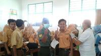 Pelaksanaan ORI Difteri dilakukan di Desa Sungailebak, Kecamatan Karanggeneng. (Koramil Penerangan)