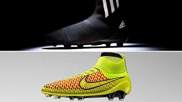 c3df46907f18c Nike dan Adidas Pamerkan Sepatu Bola Unik - Bola Liputan6.com